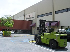 Forklift at Headquarters